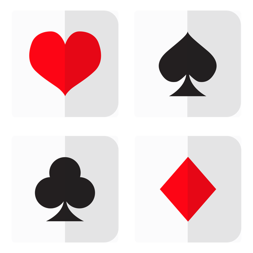 Card suites icon Transparent PNG