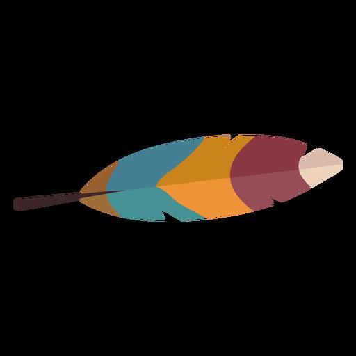 Plumas de aves de colores Transparent PNG
