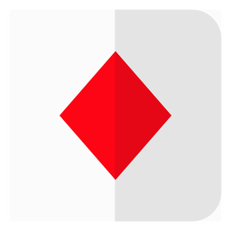 Diamanten-Kartensymbol