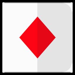 Ícone de cartão de diamantes