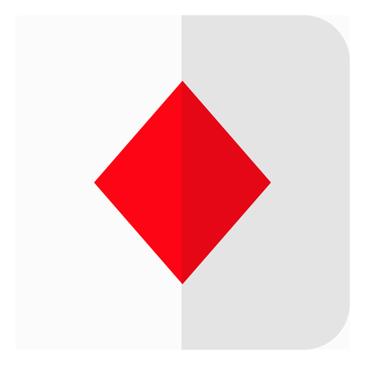 Diamonds card icon Transparent PNG