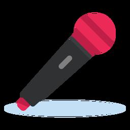 Ícone de microfone dinâmico