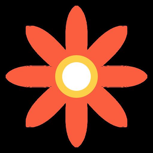 Elemento hippie flor Transparent PNG