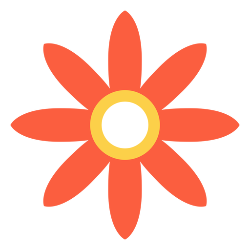 Flower hippie element Transparent PNG