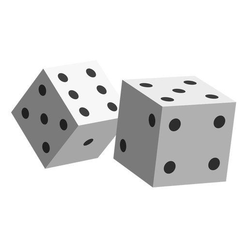 Gambling dice icon Transparent PNG