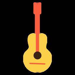 Elemento de hippie de guitarra