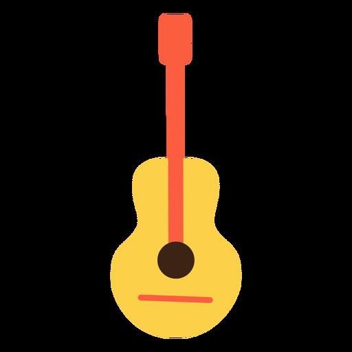 Elemento hippie de guitarra Transparent PNG