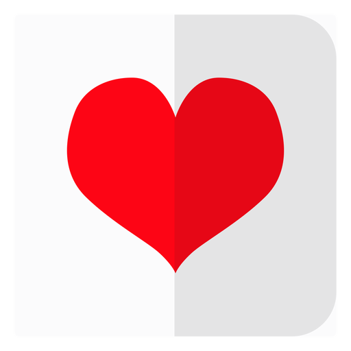 Hearts card icon Transparent PNG