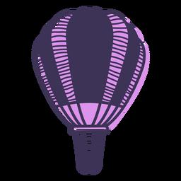 Dibujos animados de globo de aire caliente
