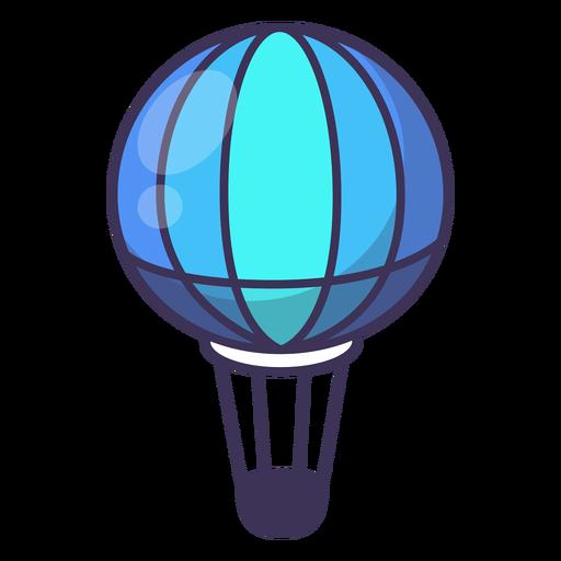 Icono de globo de aire caliente Transparent PNG