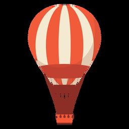 Heißluftballonillustration Heißluftballon