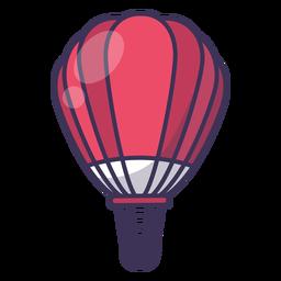 Vector de globo de aire caliente