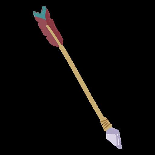Flecha de arco indio Transparent PNG