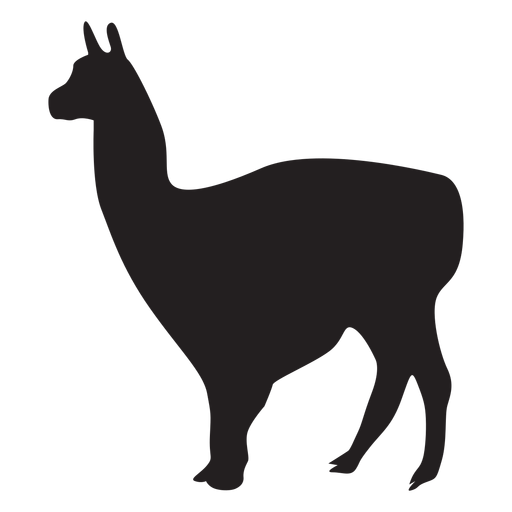 Isolated llama animal Transparent PNG
