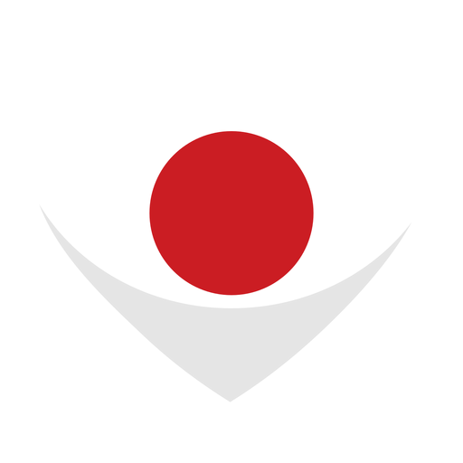 Bandera del corazon de japon Transparent PNG