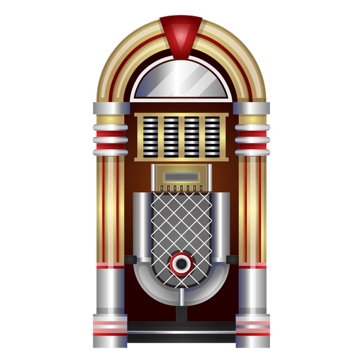 Clipart Jukebox Transparent PNG