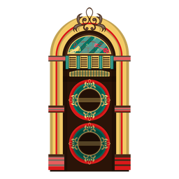 Ilustração de jukebox