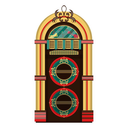Ilustración de Jukebox Transparent PNG