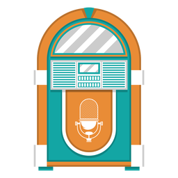 Jukebox-Maschinenillustration