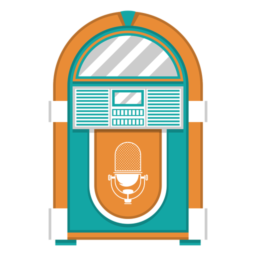 Jukebox machine illustration Transparent PNG