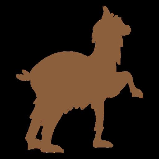 Llama silueta animal Transparent PNG