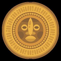 Maya-Münze