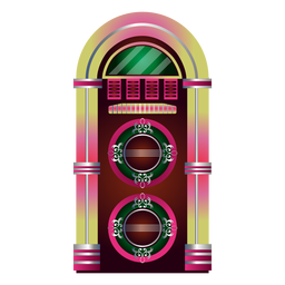 Music jukebox clipart