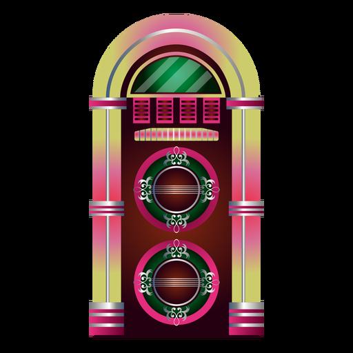 Clip de música jukebox Transparent PNG