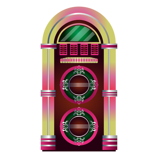 Music jukebox clipart Transparent PNG