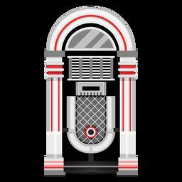 Ilustração de jukebox de música