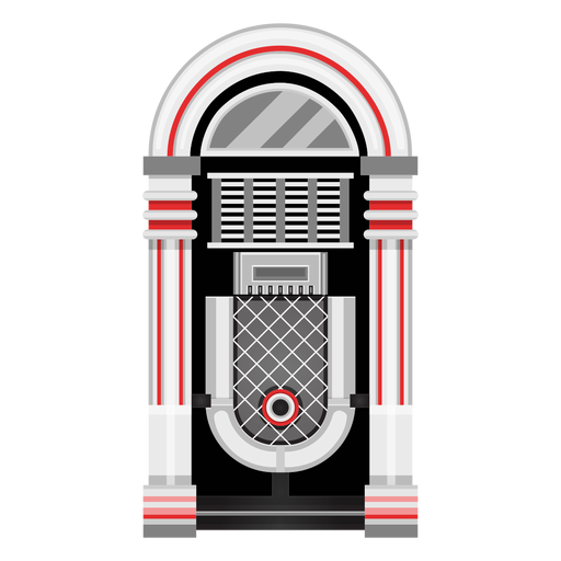 Ilustración de la máquina de música Transparent PNG