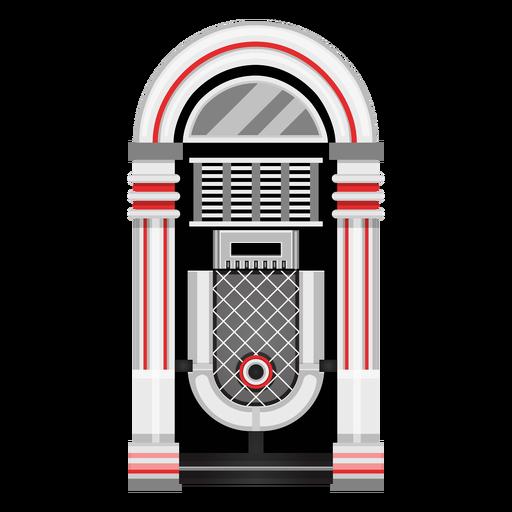 Music jukebox illustration Transparent PNG