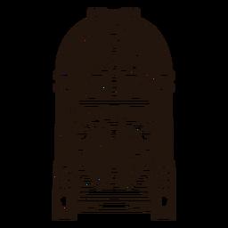 Musik Jukebox-Skizze