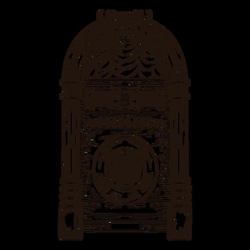 Music jukebox sketch Transparent PNG