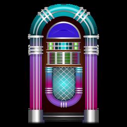 Vector de música jukebox