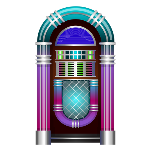 Musik Jukebox Vektor Transparent PNG