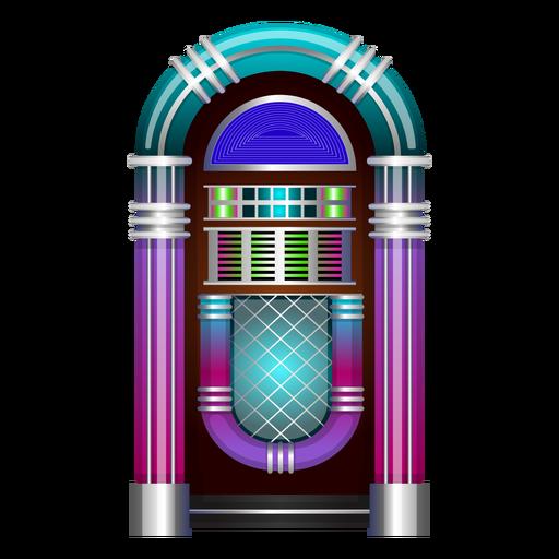 Vector de música jukebox Transparent PNG