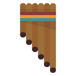 Flauta de tubo de pan