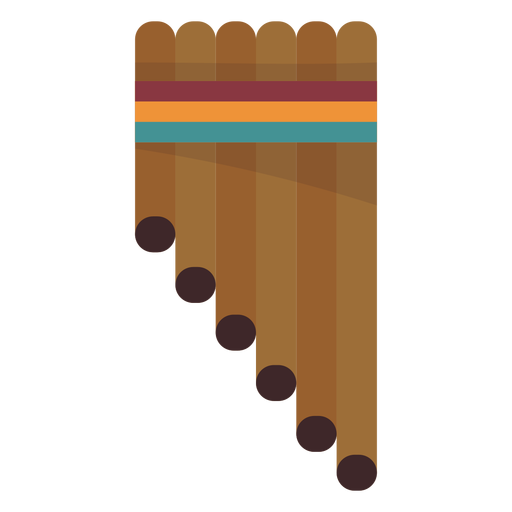 Pan pipe flute Transparent PNG
