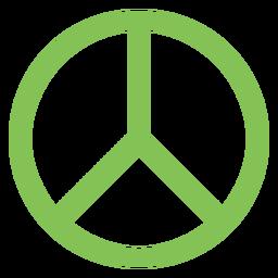 Elemento del símbolo de paz