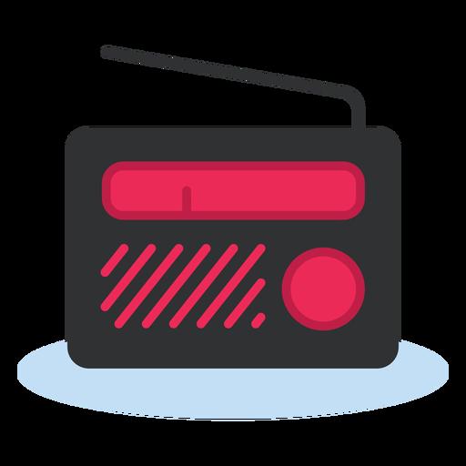 Icono de radio portátil