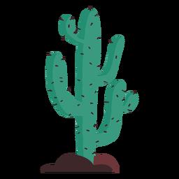 Ilustración de cactus de pradera