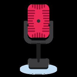Ícone de microfone de rádio