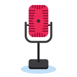 Radio microphone icon