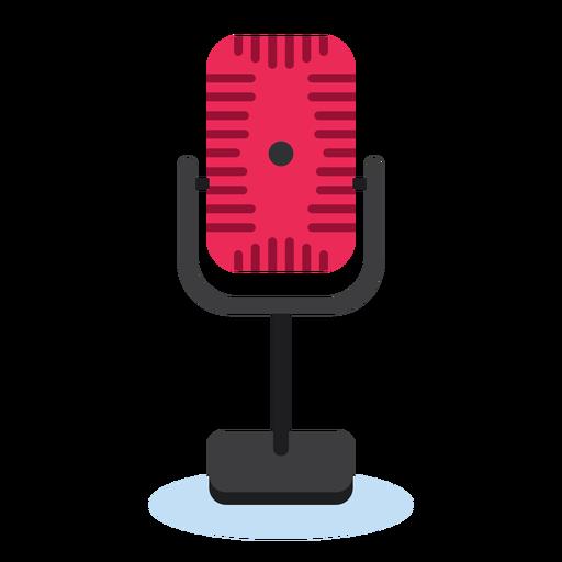 Icono de micrófono de radio