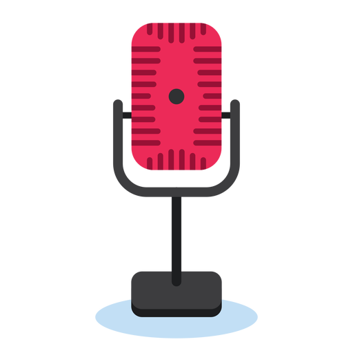 Radio microphone icon Transparent PNG