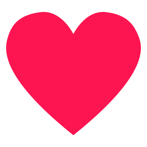 Elemento hippie corazón rojo Transparent PNG