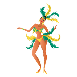 Baile del carnaval de rio