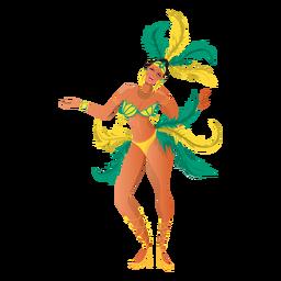 Rio Karneval tanzen
