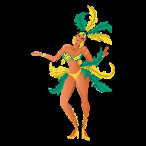 Rio carnival dancing